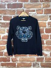 $695 Kenzo XS Authentic Jungle Animal Print Slim Paris Designer Label Sweater