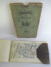 1836 GUIDE par la SUISSE, 72 Maps of Switzerland in Original Slipcase