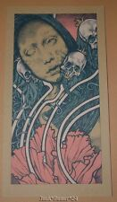 John Baizley Facedriver Poster Print Handbill Pink Blue Variant
