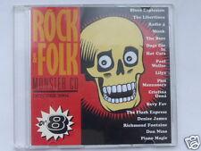 ROCK & FOLK  MONSTER CD  VOL.8, 16 TITRES, TRES BON ETAT