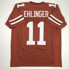 New Sam Ehlinger Texas Orange College Custom Stitched Football Jersey Size Xl