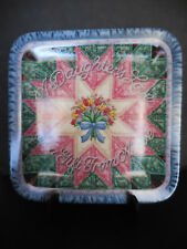 Quilt Pattern Porcelain Plate - A Daughter'S Love - Mary Ann Lasher - 2Nd Issue