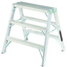 Louisville Ladder 3-Foot Aluminum Sawhorse, 300-Pound Duty Capacity, Type Ia,.