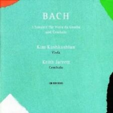 KEITH JARRETT/+ - SONATEN FÜR VIOLA DA GAMBA UND CEMBALO  CD  11 TRACKS  NEW!
