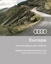 Audi Navigation Plus RNS-E OST Deutschland Kroatien Ungarn Polen Bulgarien 2017