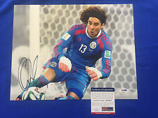 GUILLERMO OCHOA Signed Photo Picture 11x14 Mexico World Cup Soccer PSA/DNA COA 2