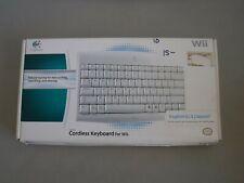 Logitech Wireless Wii Keyboard KG-0802 - Wii & Wii U