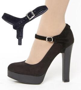 Detachable Shoe Strap/Holder/Belt Shoostraps(TM)-hold loose heels/flat shoes