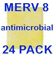 Polyester Filter Pad Inserts MERV 8 Antimicrobial A+2000 Pads -n- Frame REFILL KIT 6 pack 22x22x1