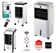 Evaporative Air Cooler Fan High Cooling , 4L & 15L, Remote Control, Oscillating