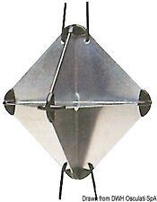 RADAR REFLECTOR SMALL OCTAHEDRAL ALLOY 21 x 21 x 30cm FOLDABLE FOLDING