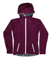 MW Womens Purple Euphoria Softshell Jacket Hooded Coat