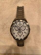 Tissot Chrono Titanium White Sticks Dial Quartz Mens Watch T069.417.44.031.00