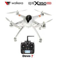 Original Walkera QR X350 PRO RC Quadcopter FPV Drone w/ DEVO 7 Transmitter RTF
