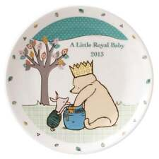 Classic Winnie The Pooh A Little Royal Baby Ceramic Prince George Plate A26015