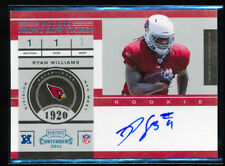 1/1 RYAN WILLIAMS 2011 PLAYOFF CONTENDERS ROOKIE FRONT ROW TICKET AUTO RC HOKIES