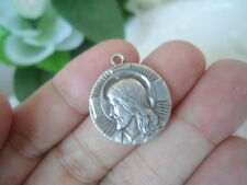 Sterling Silver - Episcopalian Jesus Prayer Medal 3.4g - Pendant Collection