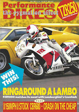 Transalp 600V Suzuki DR600RG Kawasaki KLR650 FZR1000 Yamaha TZR250 Countach KLR