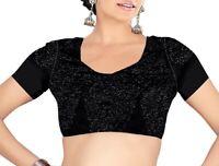 Ready made Stitched Heavy work Designer Blouse Choli Top Saree Belly Dance Sari