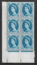 10d Wilding Violet Phos 9.5mm cyl 1 Dot perf type A(E/I) UNMOUNTED MINT
