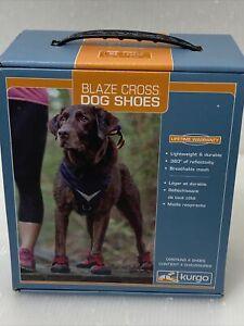 Kurgo Blaze Cross Dog Shoes All Season Paw Protectors Reflective No Slip XL
