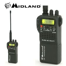 CB Radio Midland Alan 42 DS Multi Band Standard Handheld 40 Channel 27MHz AM/FM