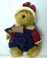 Bailey Americana Boyd's Bear Patriotic Red White and Blue 2002 with tags