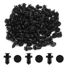 50pcs 10mm Hole Clips Plastic Push Type Rivet Retainer Fastener Bumper Pin Car