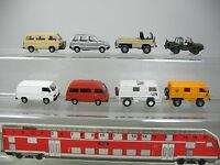 AI776-0,5# 8x Roco/Rietze H0 Modell: Nissan Prairie+Mitsubishi L 300 etc