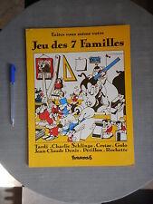 JEU DES 7 FAMILLES FUTUROPOLIS 1983 TBE ET BIEN COMPLET
