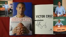 Signed Victor Cruz Out of The Blue NY Giants 1/1 HC DJ Poster PICS Football NFL