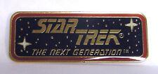 Star Trek:NG Name Plaque Cloisonne Pin-Vintage (TRK-1012)