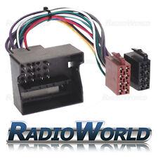 BMW Mini un plana Pin ISO Stereo Auto Audio unidad principal arnés Adaptador De Cableado De Plomo