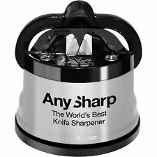 Anysharp Knife Sharpener Silver Blade Kitchen Tools Sharp Gadget Silver