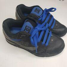 DC Skate Shoes Versaflex Black/Blue Mens Size 7.5 Skate Shoes