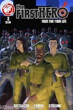 The F1Rst Hero Fight For Your Life #3 (Of 4) Comic Book 2015 - Action Lab