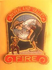 MICHAEL JACKSON NEVERLAND VALLEY FIRE DEPARTMENT PATCH CALIFORNIA FIREFIGHT DEPT