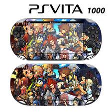 Sony PS Vita PSV 1000 Skin Decal Sticker Vinyl Wrap Kingdom Hearts Final Mix II