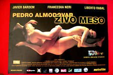 LIVE FLESH 1997 SEXY PEDRO ALMODOVAR JAVIER BARDEM NERI RARE EXYU MOVIE POSTER