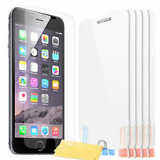 "5 x iphone 6 (4,7 "") transparent clair lcd screen protector guard film sticker"