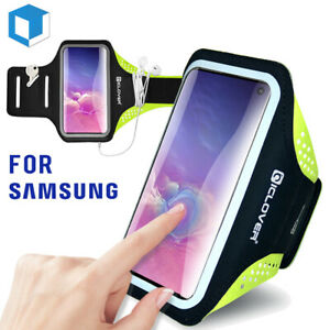 Fr Samsung Galaxy Note 10/20 +/Ultra S21 Sport Running Armband Jogging Phone Bag