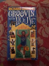 "RICHARD SIMMONS"" GROOVIN' IN THE HOUSE""  VHS NEW! FACTORY SEALED!"