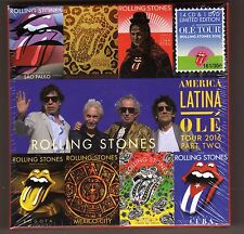 ROLLING STONES - American Latina OLe' Tour 2016 part 2 - 14 CD s & 1 DVD Box Set