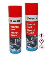 2x Würth Industrie Clean 500ml E...