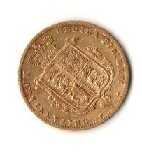 1875 S Australia Gold Half Sovereign Great Gift