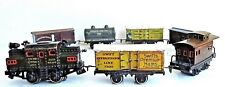 "Vintage 1920's BING ""NEW YORK CENTRAL LINES"" Train Set Of Iron And Tin -Working-"