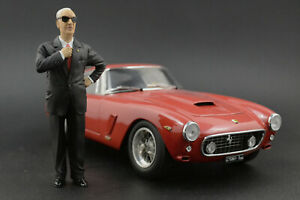 Enzo Ferrari Figure for 1:18   CMC 250 125 F2 VERY RARE!  !! NO CAR !!
