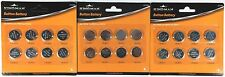 24pcs Lithium Cell Button Batteries Pack CR2032 CR2016 CR2025 Coin Battery Pack