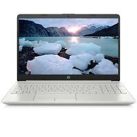 NEW HP 15.6 Laptop Intel i3-1005G1 3.4GHz 256 SSD 4GB RAM Mic WIN10 Backlit KB