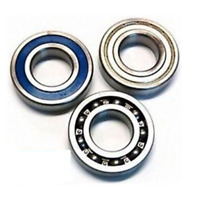 6800 - 6809 SS Stainless Steel Thin Wall Bearings (61800 - 61809) - 2RS Open ZZ